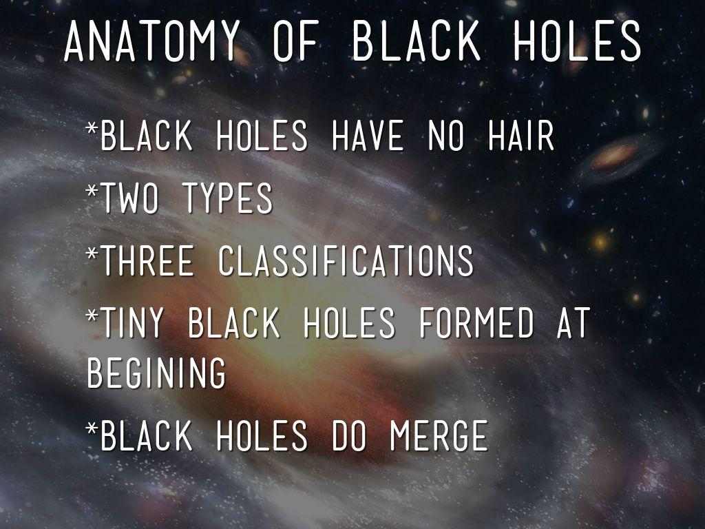 Black Holes by Jackson Humphreys