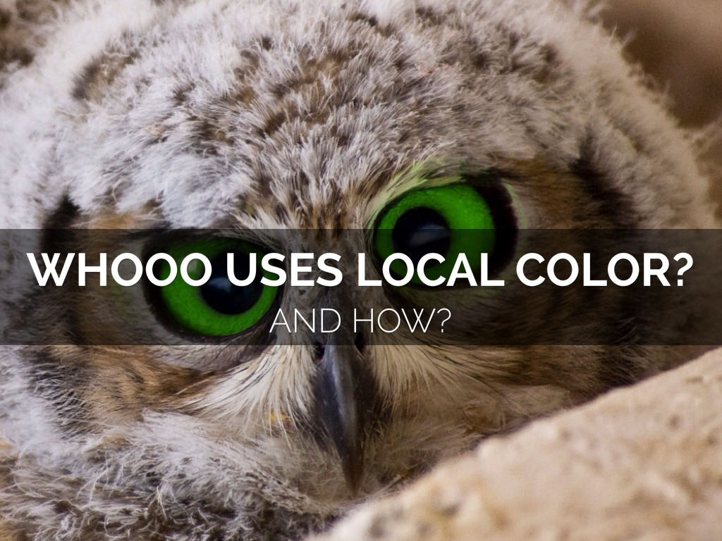 local color Local color local color as a literary genre bears the full weight of the concept of region, for its typical stories and sketches offer highly particularized visions.
