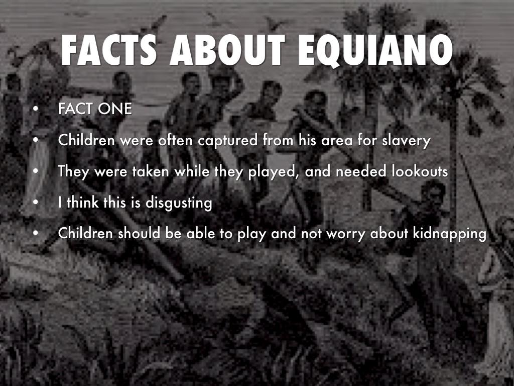 the horror slave of a slave ship olaudah equiano While europeans owned and operated the slave ships, the work of kidnapping new  olaudah equiano was abducted when he was 8 years old  a slave ship, the voyage to the new world was a passage of nearly unimaginable horror.