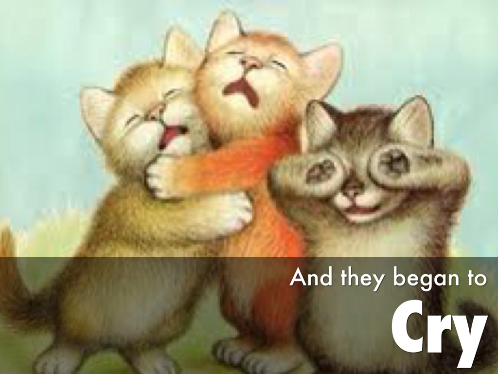 Three little kittens by wendy black The three cats