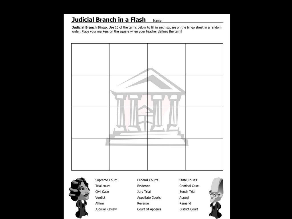 Judicial Branch (Government And Politics) by A Faulkner