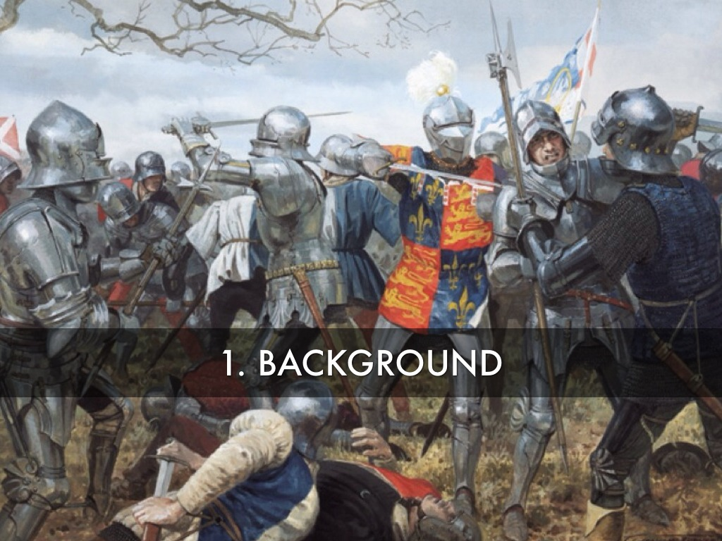 the battle of agincourt The english victory at the battle of agincourt gave birth to a legend that was  immortalized in william shakespeare's king henry v the battle took place in a.