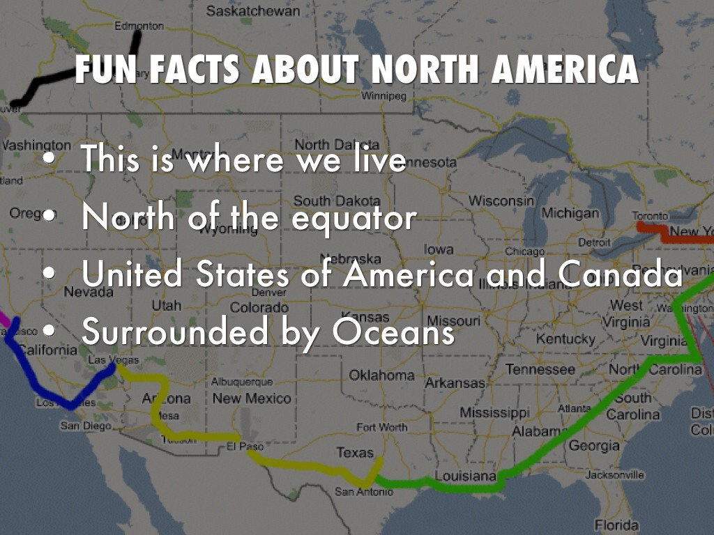 Continents by sje 5th grade cart for Interesting facts north america