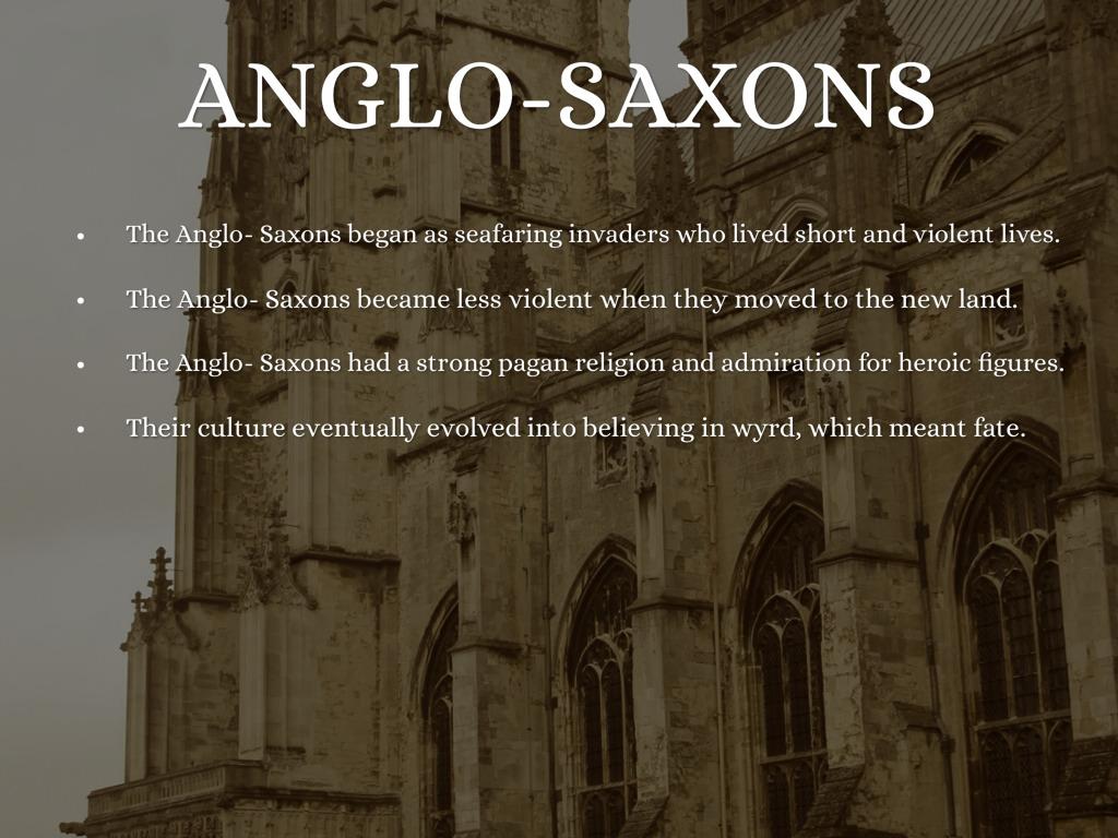 anglo saxon prose