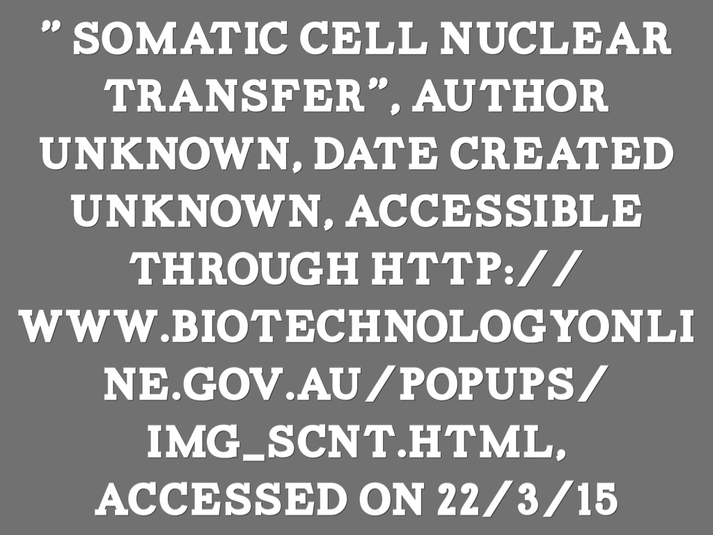 an argument in favor of cloning and nuclear transfer Therapeutic cloning (scnt) is integral to production of treatments for many   cloning is sometimes referred to as somatic cell nuclear transfer or scnt.