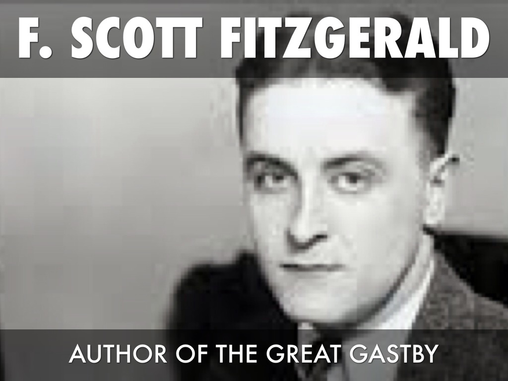 f scott fitzgerald and wealth F scott fitzgerald the great gatsby and the american dream class inequality and 'the gospel of wealth' - in tackling such issues f scott fitzgerald's masterpiece has never been more relevant.