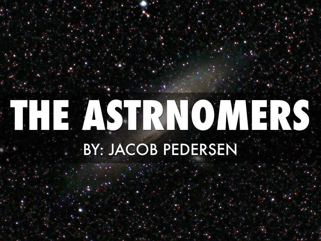 Astronomers by Jacob Pedersen