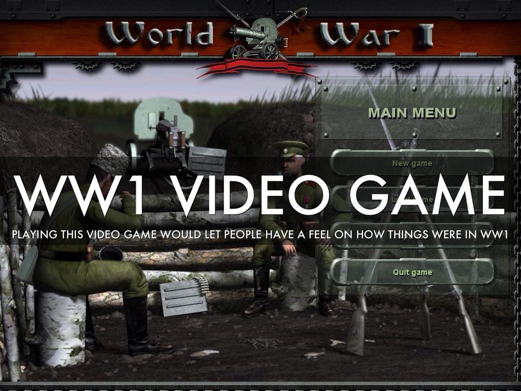 World war 1 by taylor hunt ww1 video game gumiabroncs Image collections