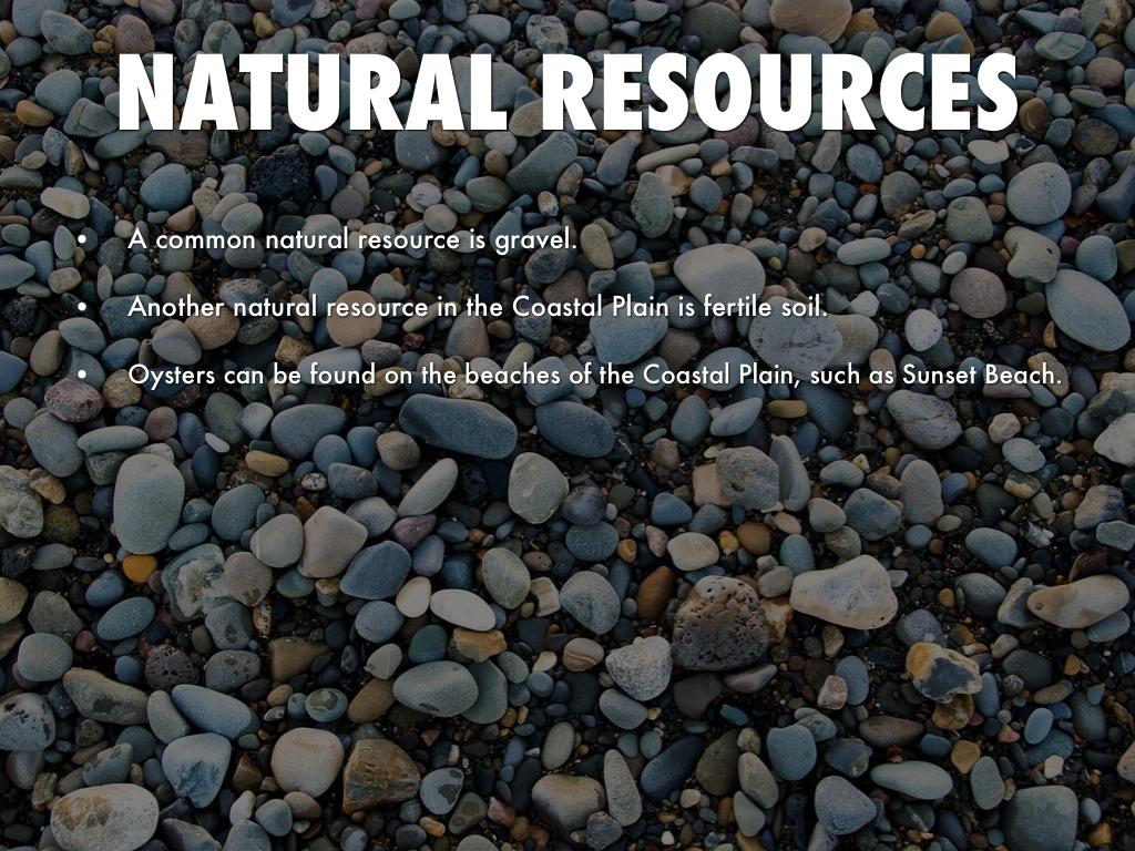 Outer Coastal Plain Natural Resources
