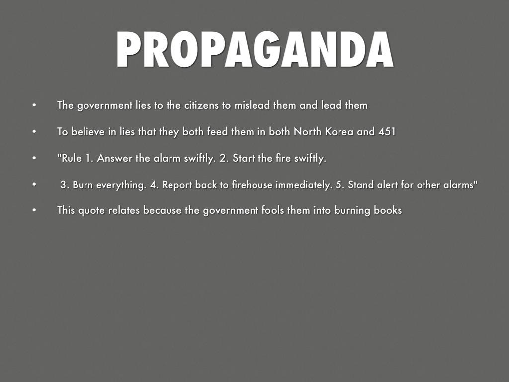 Fahrenheit 451 Quotes About Books North Koreaandrew Tao