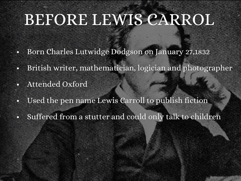 thesis of jabberwocky Jabberwocky by lewis carroll was written to be a fun poem which told the story of a man slaying a beast with made-up words and no connotative meaning.
