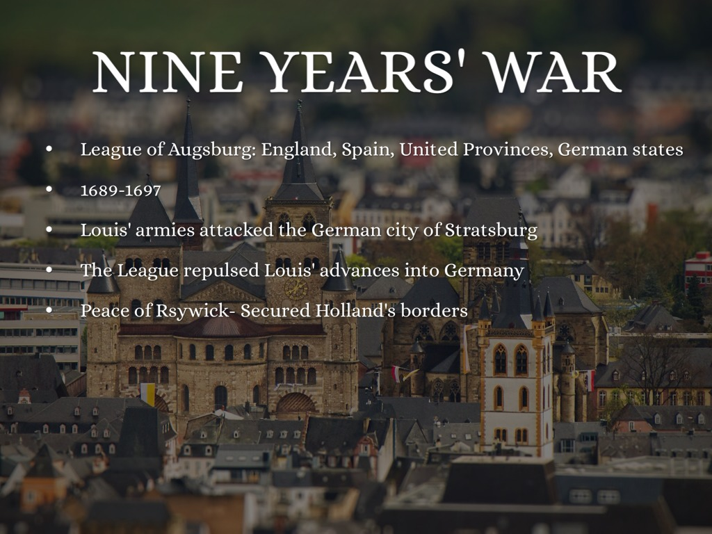 nine year war The nine years war, can be understood as a war of irish against english, or catholic against protestant, but a closer look at clans like the maccarthys reveals a much.