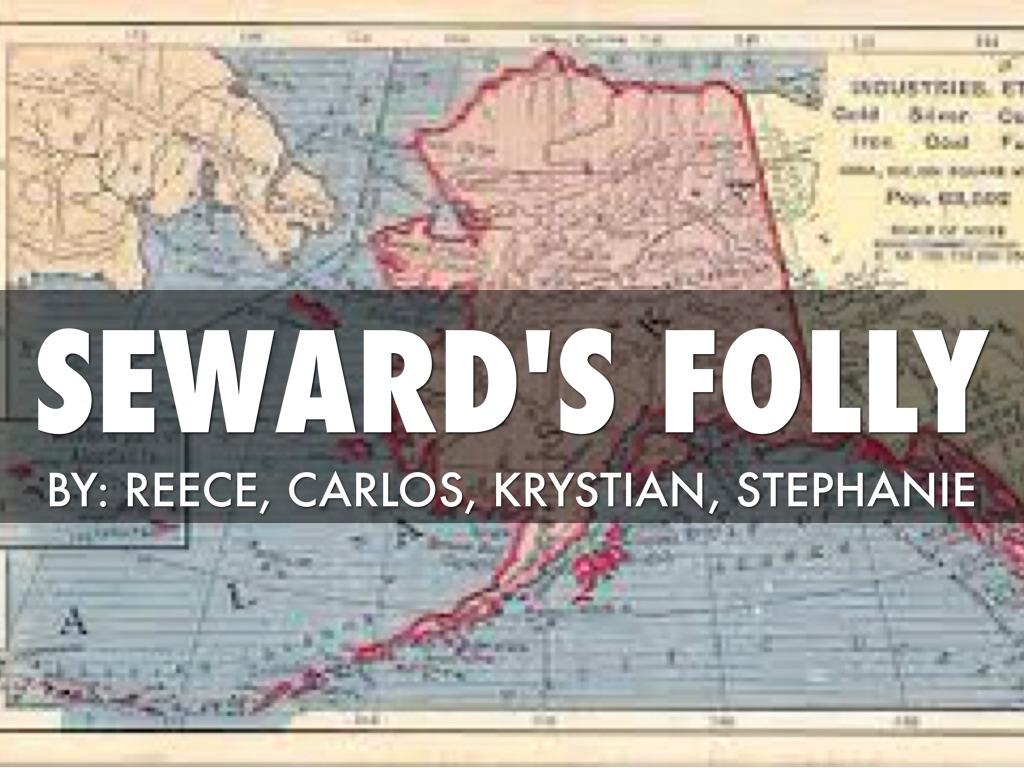 Seward Folly By Reece Hagan - Us map after sewards folly