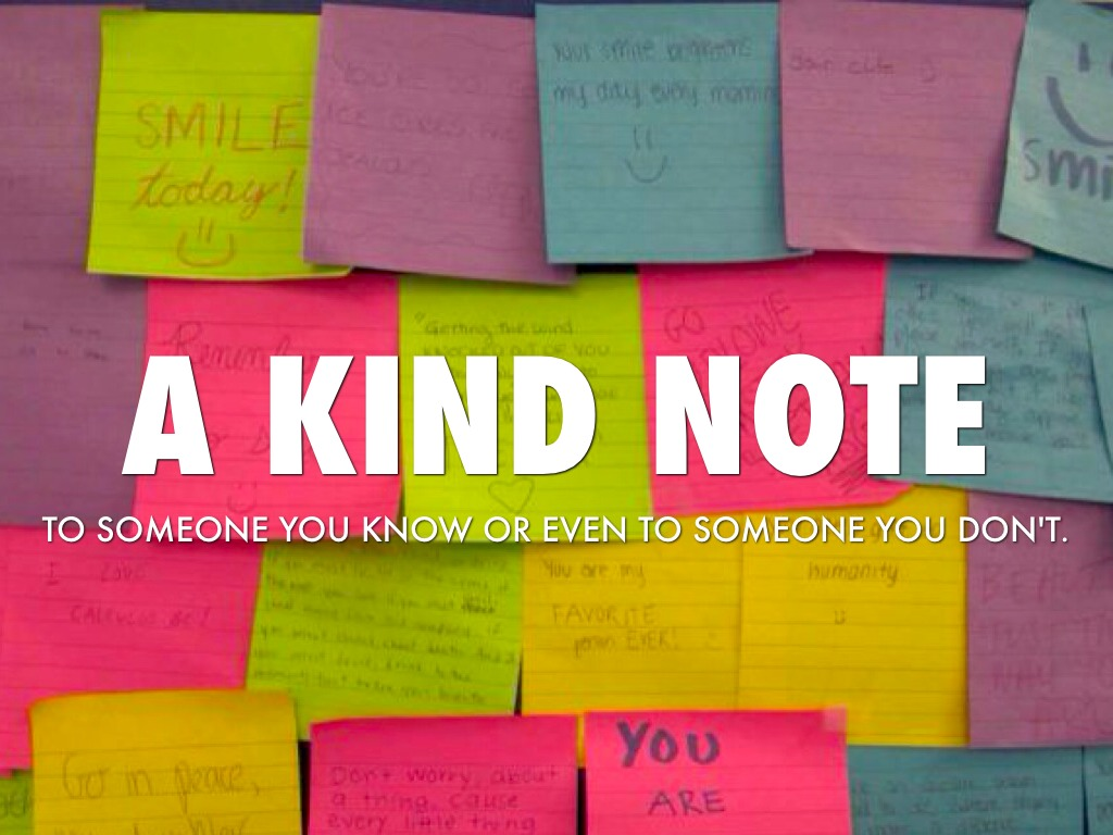 Random Acts Of Kindness Week By Mary
