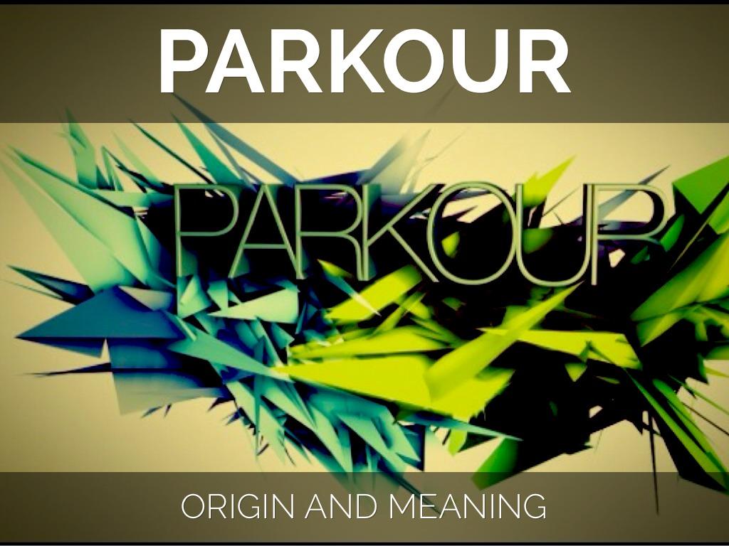 Parkour Roots By Lance Paz