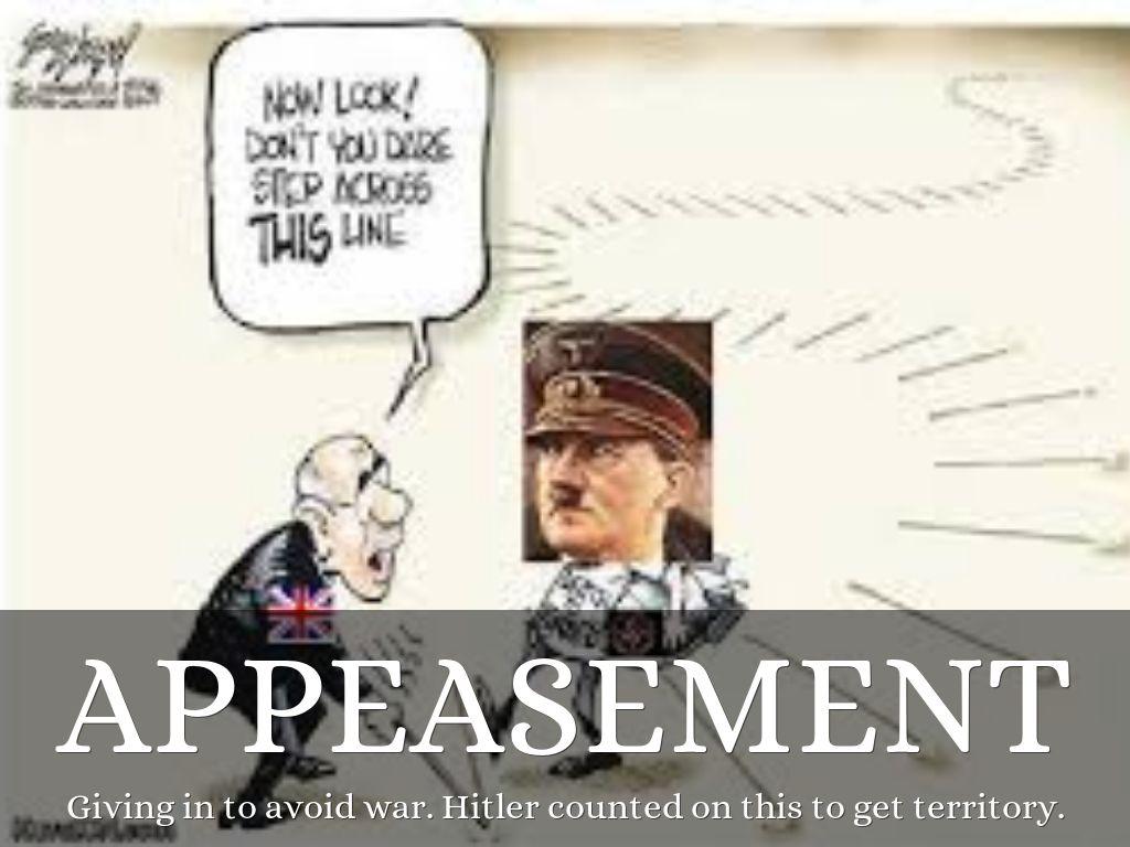 world war 2 appeasement essay