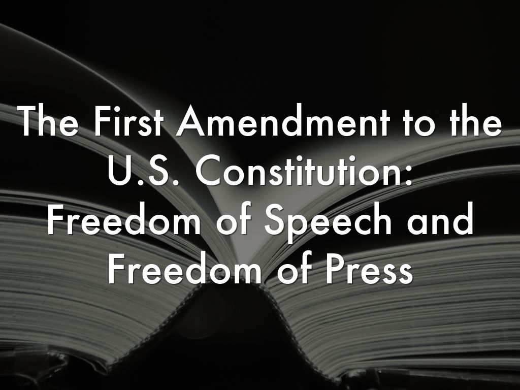 a right to freedom of speech in the first amendment to the united states constitution Related interests freedom of speech first amendment to the united states constitution oxford dictionary describes freedom of speech as the right to express any opinion without to ask the government to put restriction on freedom of speech is a violation of that right when it clearly.