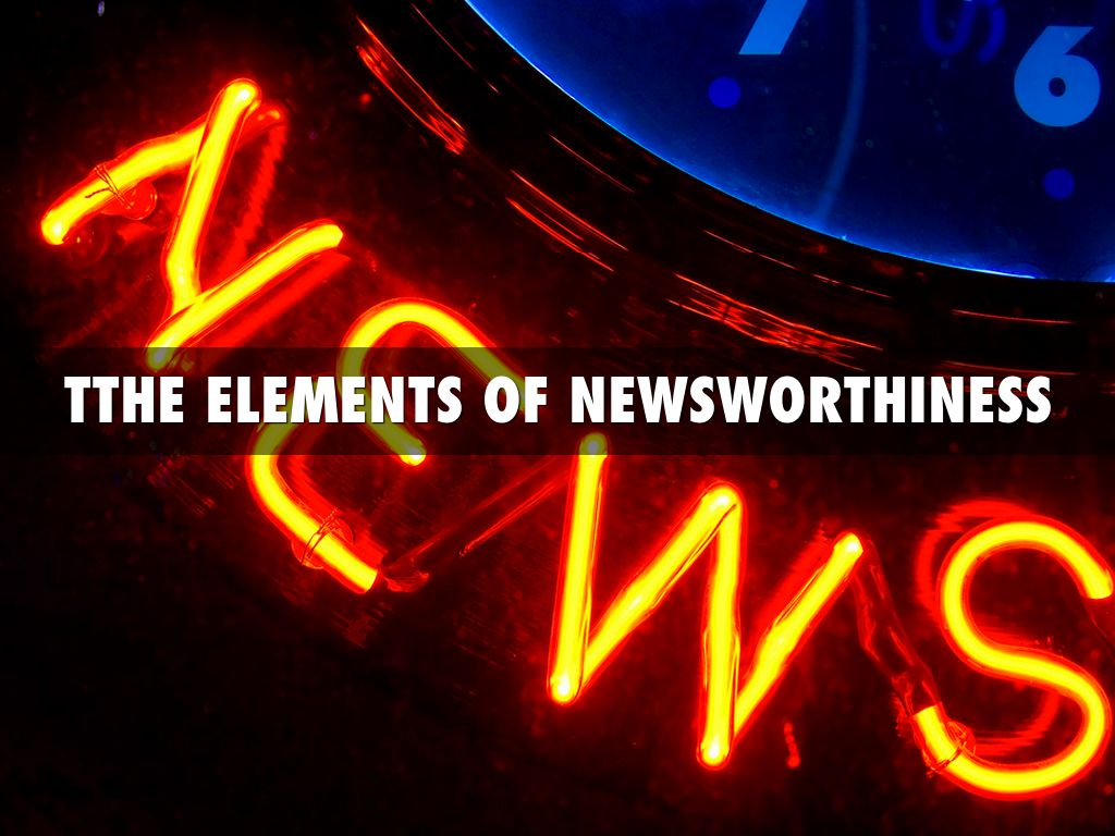 Elements Of News.