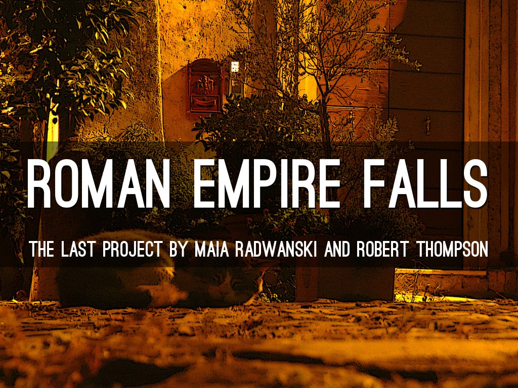 roman empire fall The fall of the roman empire was a result of the effeminacy of a few in carthage, a paradise for homosexuals, who infected the many the abhorrent presence of a few gays infected a good part of the (roman) people, prof mattei told radio maria, a.