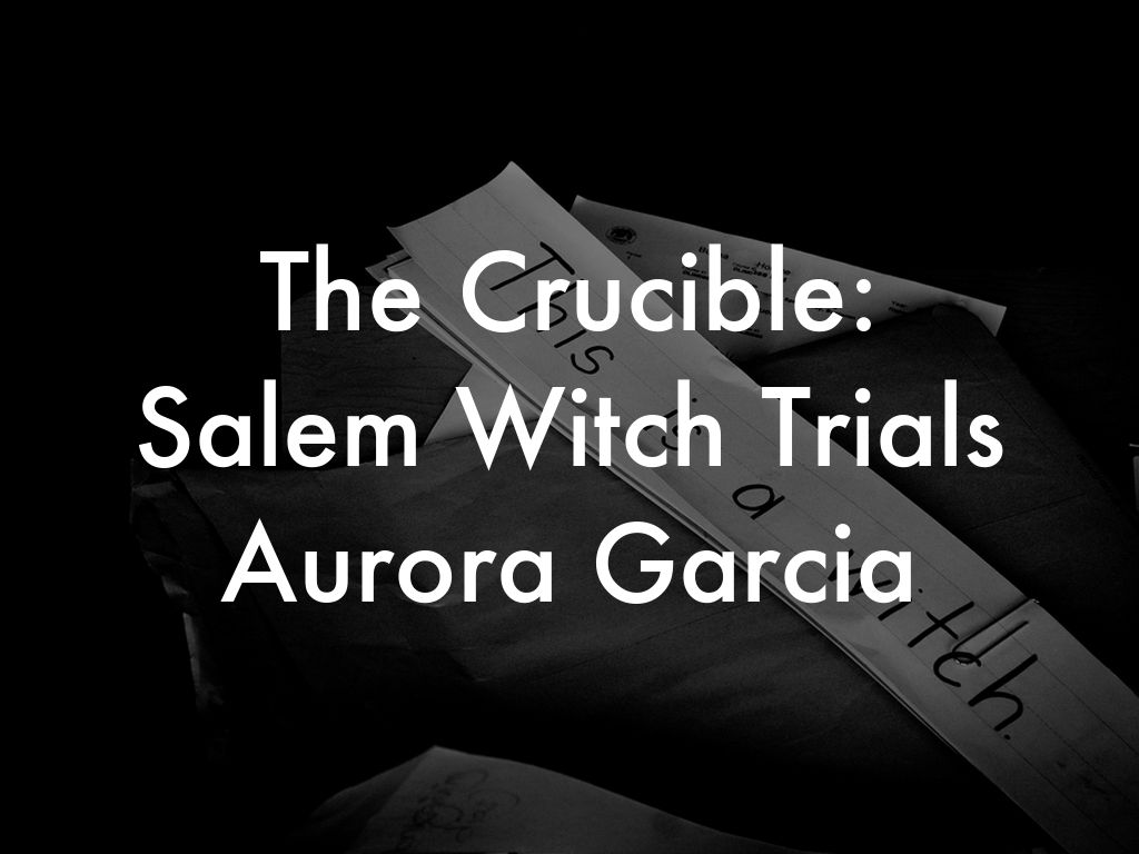 a description of what is there about the society of salem in the crucible The witch trials revealed the true characteristics of the society in salem the main antagonist of the story abigail williams, after having an affair with a married man ¿½ john proctor and wants to pursue her relationship with him.