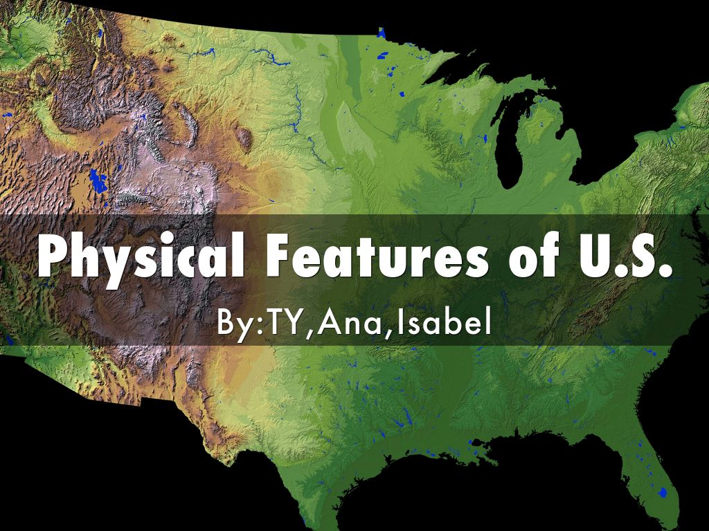 Physical Features Of U S