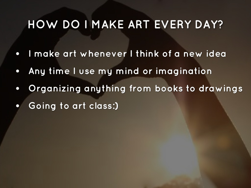 what art means to me