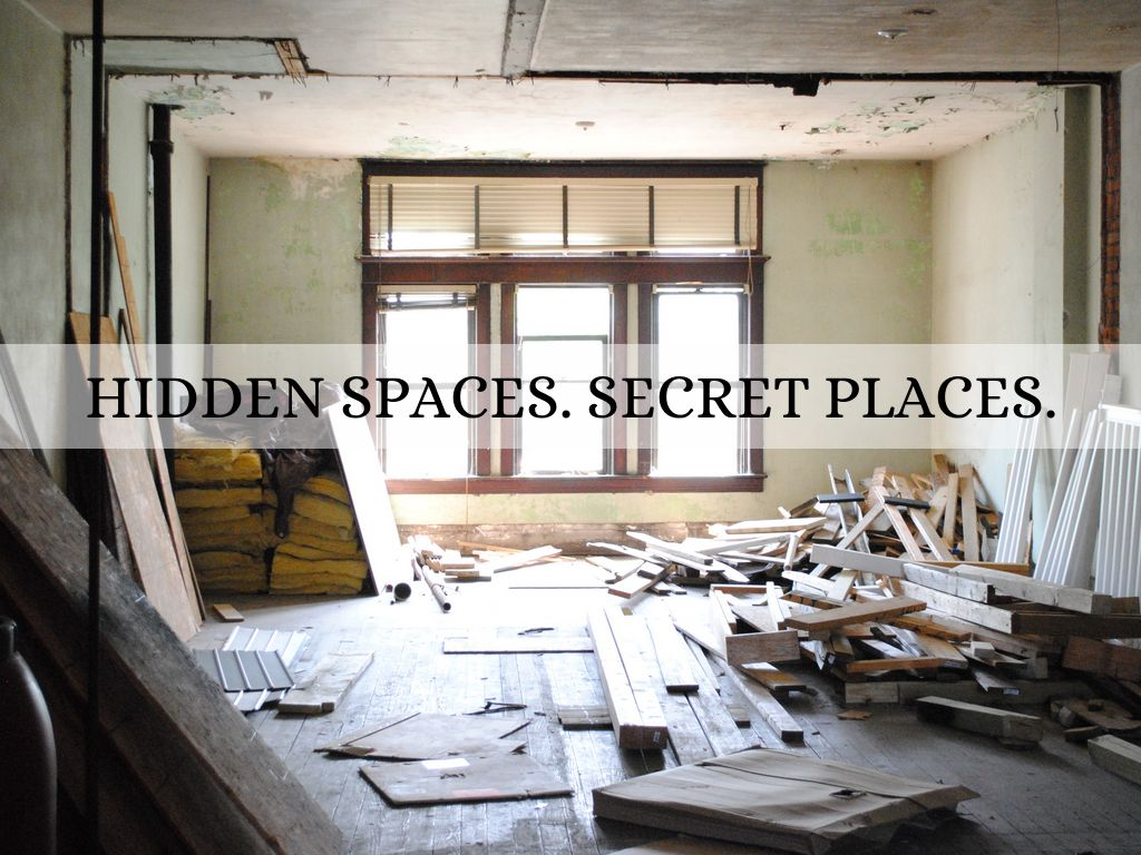 Hidden Spaces Presentation - California