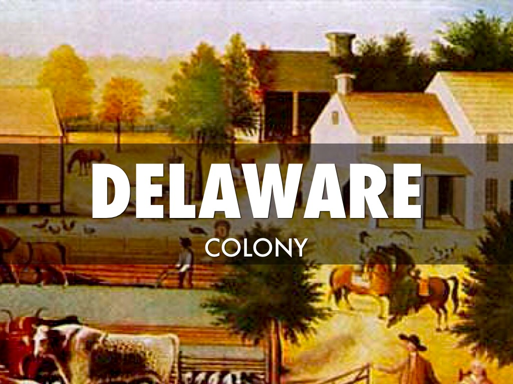 Delaware Colony by Noah Goble