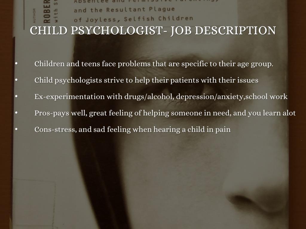 school psychologist job description