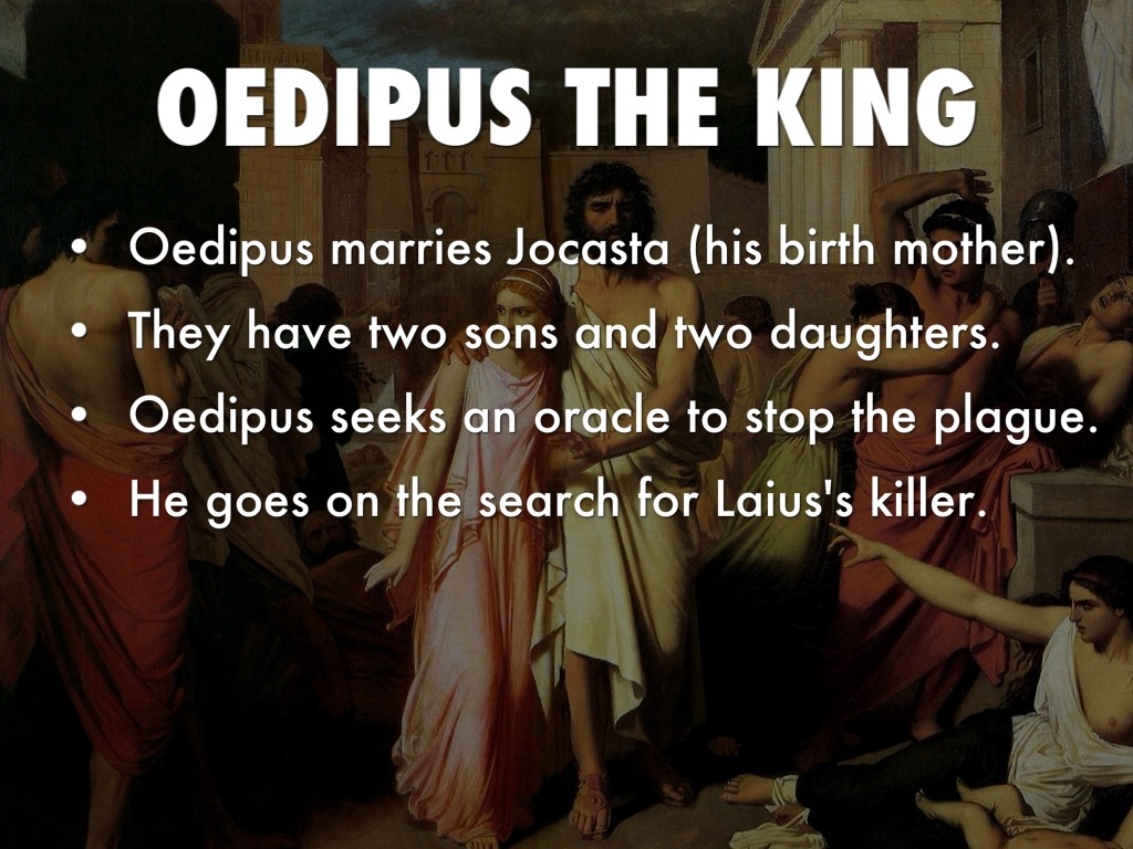 oedipus the king english assignment Oedipus the king link.