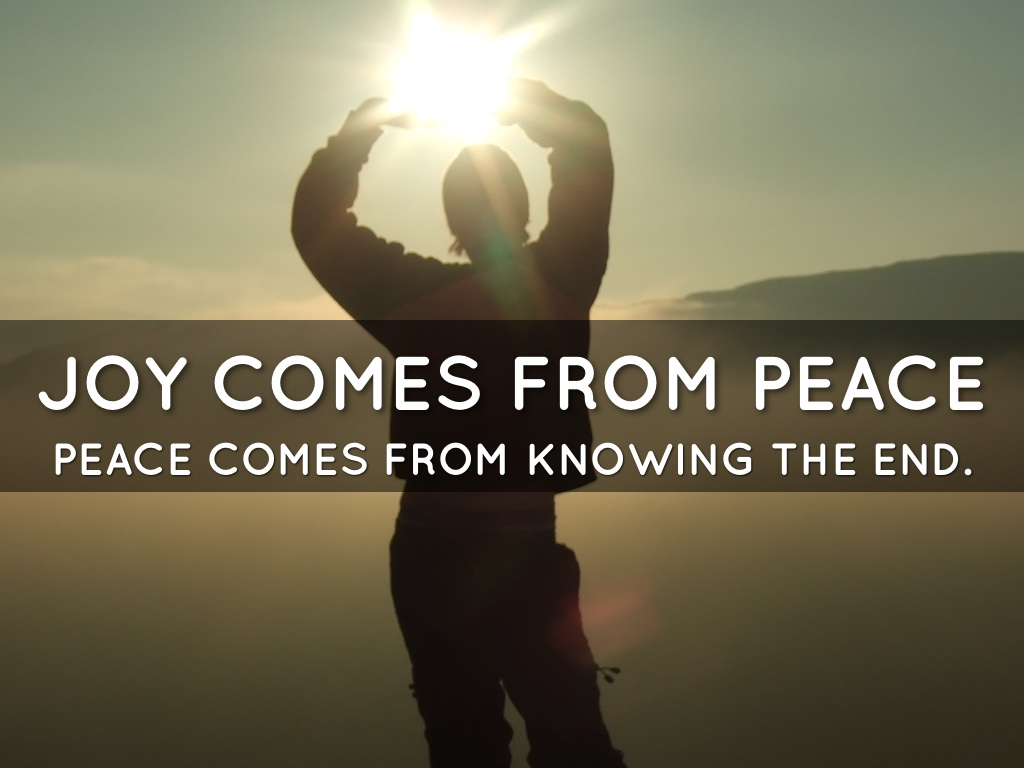 joy from peace with others