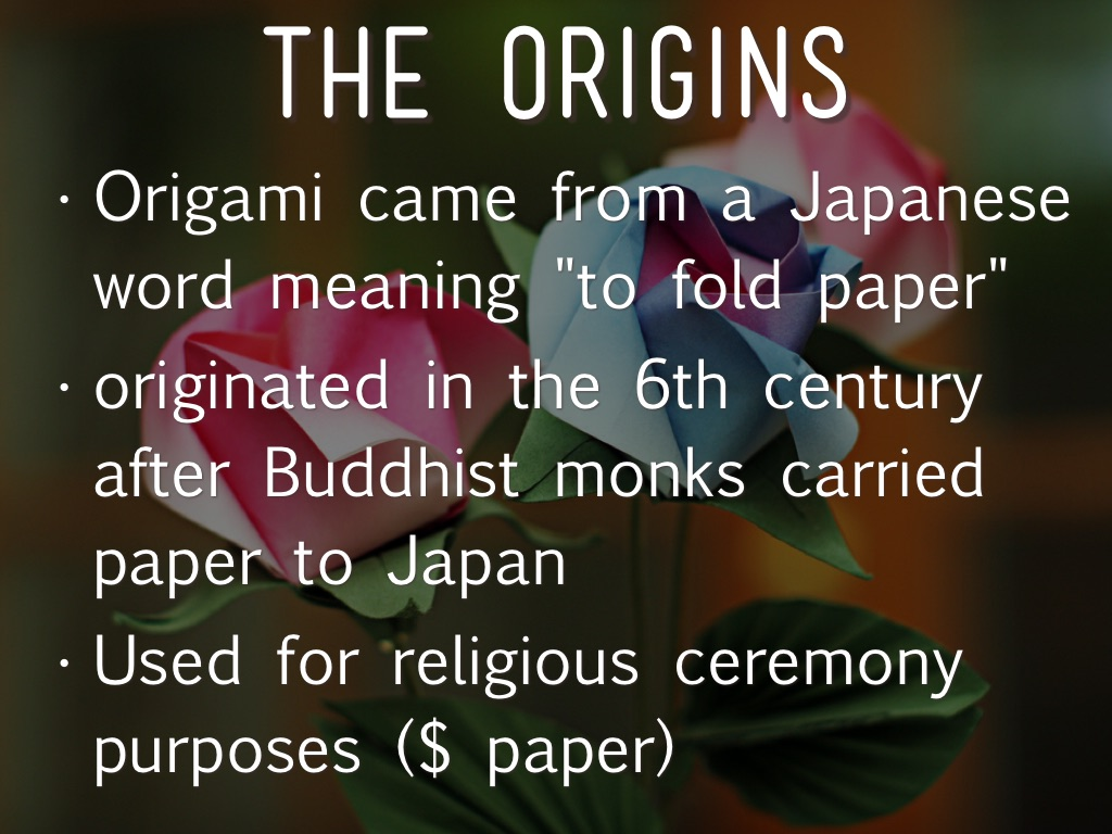 The history of origami by valerie oliver the art of origami jeuxipadfo Image collections