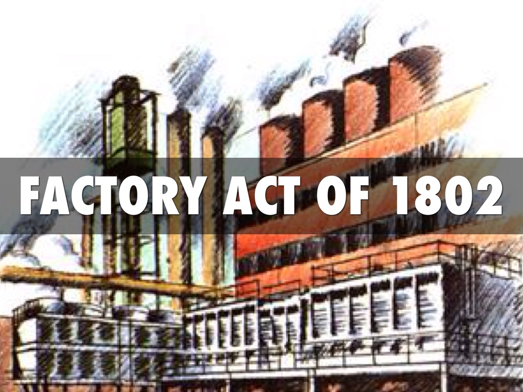 factory act The factories act application for registration of a factory (particulars to be submitted by occupiers or intending occupiers of factories) i/we hereby apply for the registration of the premises of which the particulars are given below, as a factory ( delete whichever is not applicable) 1 (a) name of occupier or intending occupier of the.