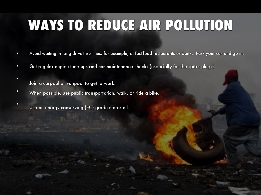 How to prevent pollution essay