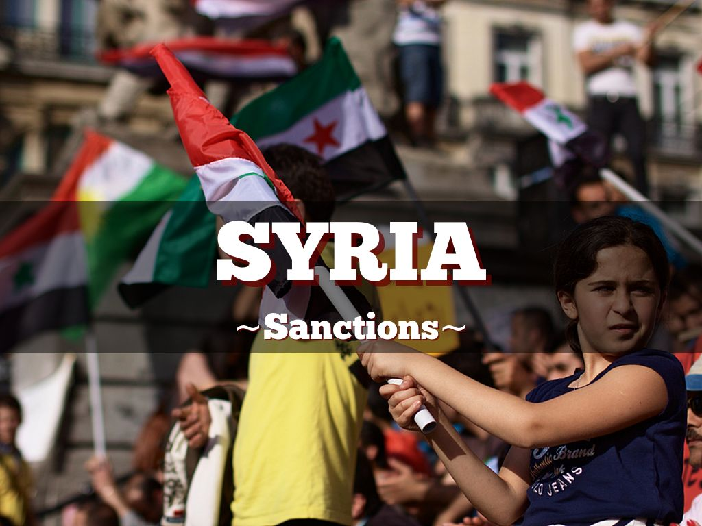 Syria sanctions