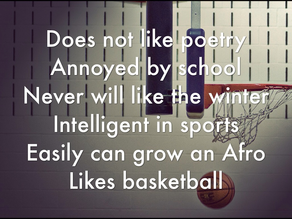 Limerick Poem Examples About Basketball Pictures to Pin on ...