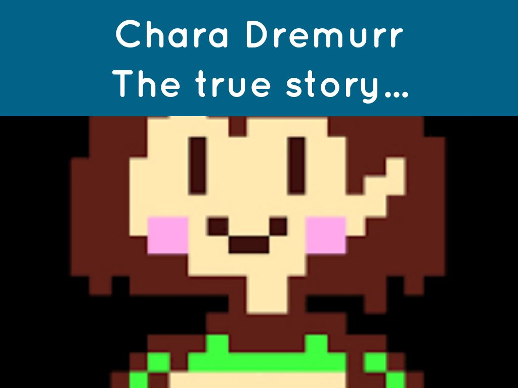 Chara Dremurr-Genius hour