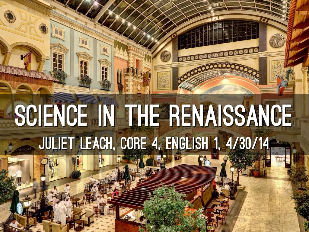 scientific renaissance Design for scientific renaissance, kuala lumpur, malaysia 13k likes dsr is established by number of scholars in various fields  their primary aim is.