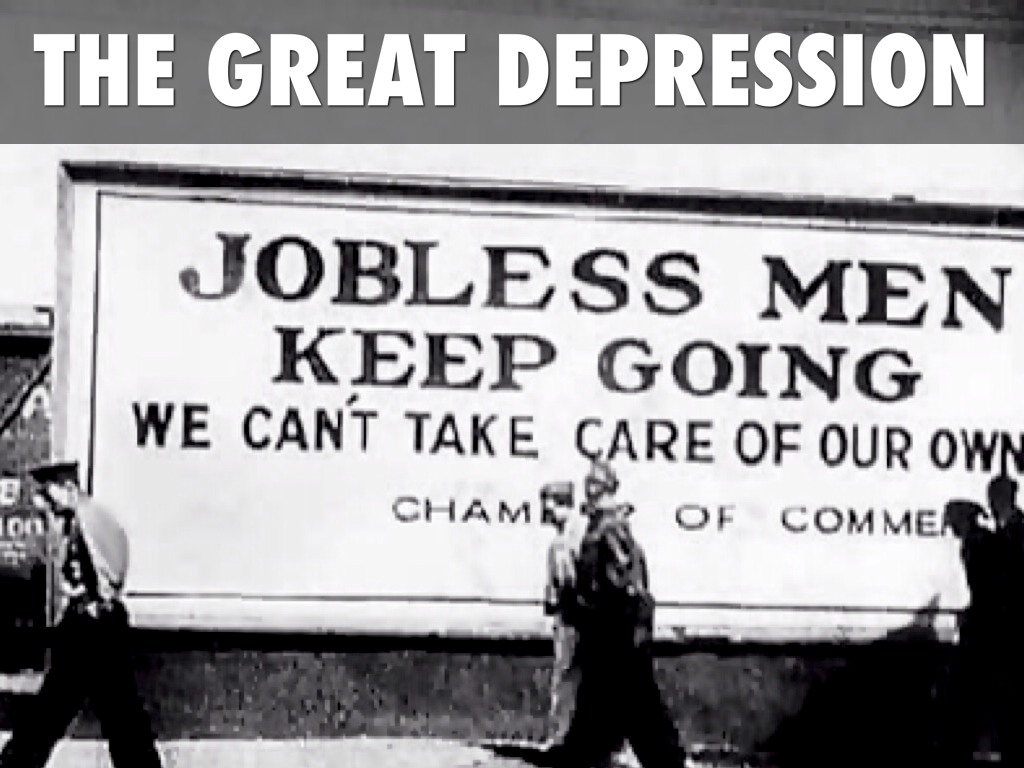 the great depression by megan smith presentation outline