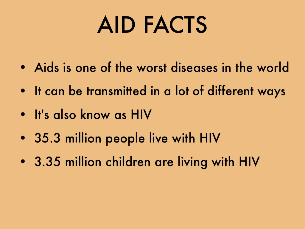 the hard facts about the aids disease What is aids what does aids mean syndrome means a group of health problems that make up a disease aids is caused by a virus called the human immunodeficiency.
