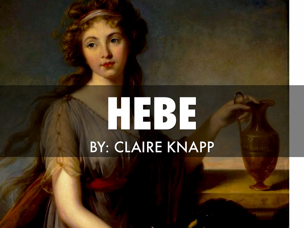 Goddess Hebe by Claire Knapp