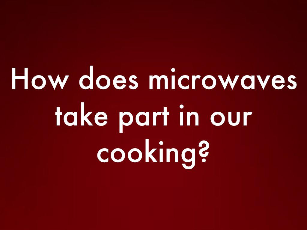 Microwaves By Breanna Fibranz