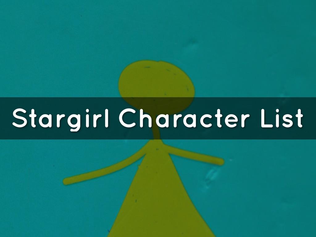 Stargirl Character List