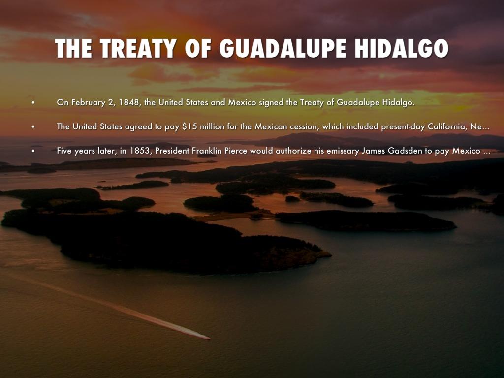 treaty of guadalupe hidalgo essay