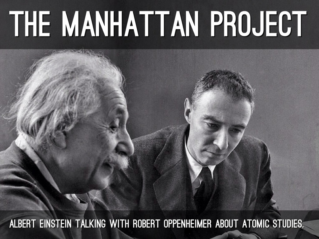 Albert einstein manhattan project