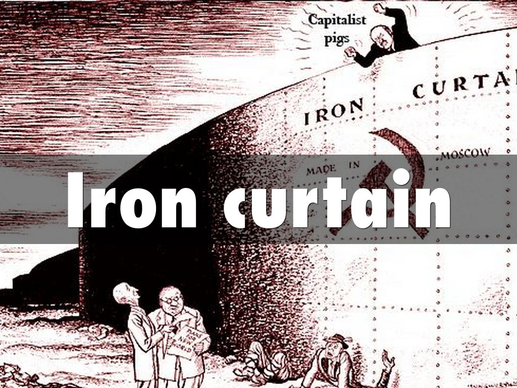 Iron curtain cartoon - Iron Curtain