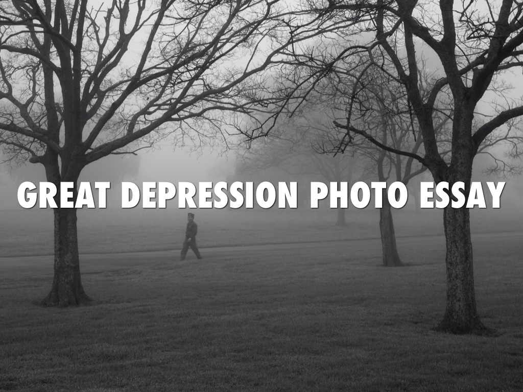 photo essay depression