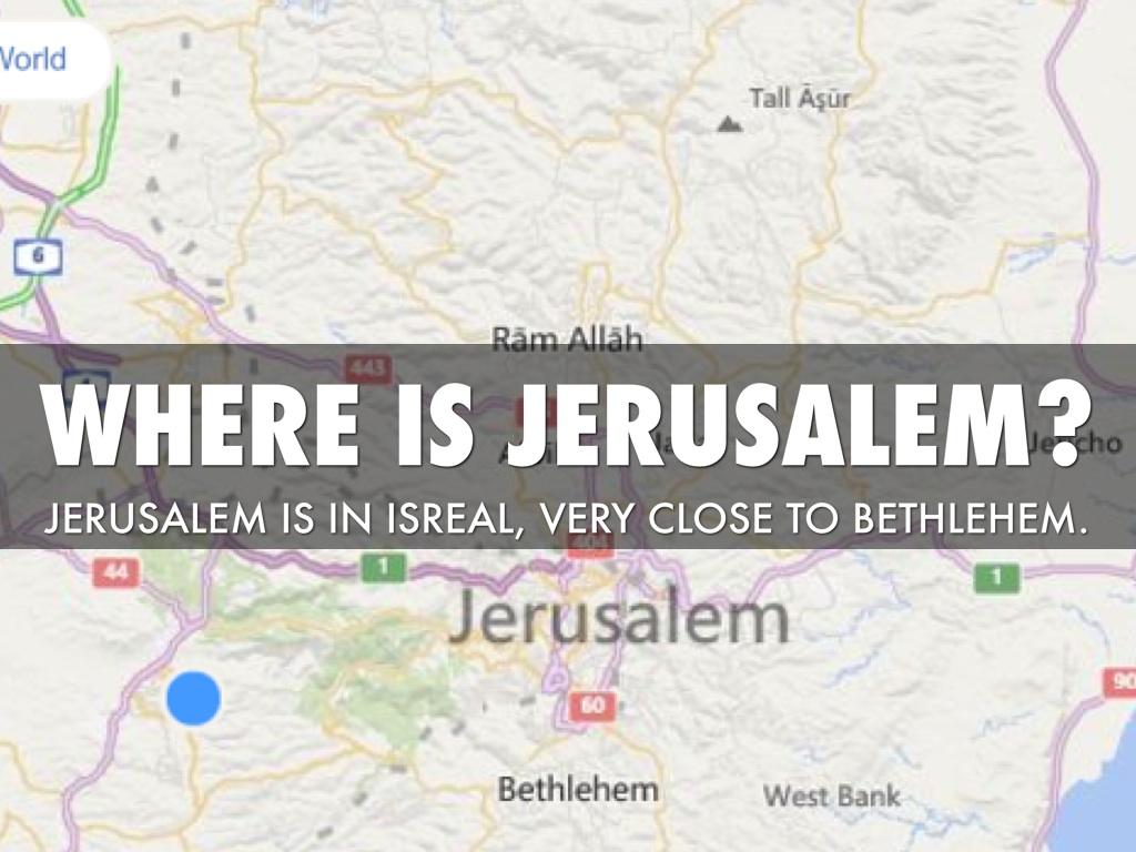 My Destination By Adrian Garcia - Where is jerusalem