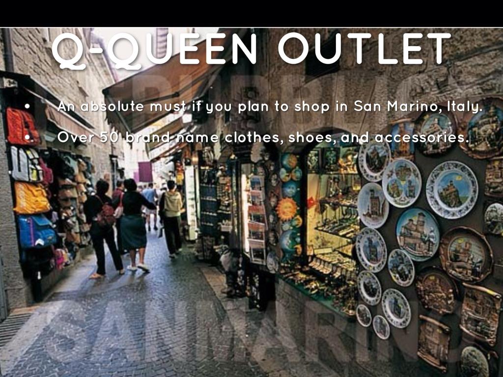 Emejing Queen Outlet San Marino Ideas - bakeroffroad.us ...