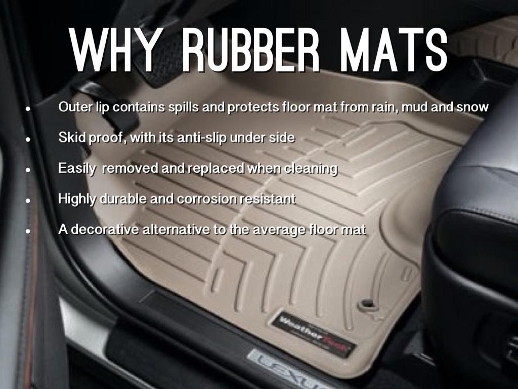 Rubber mats car - Why Rubber Mats